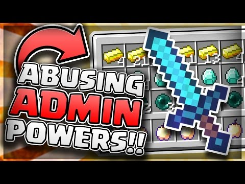GETTING OP AND ABUSING ADMIN POWERS! *NEARLY GOT BANNED* - Minecraft Prisons Trolling
