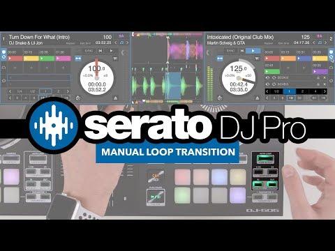 How To Mix Between Different Genres (Manual Loop Method) -  Serato DJ Pro Tricks