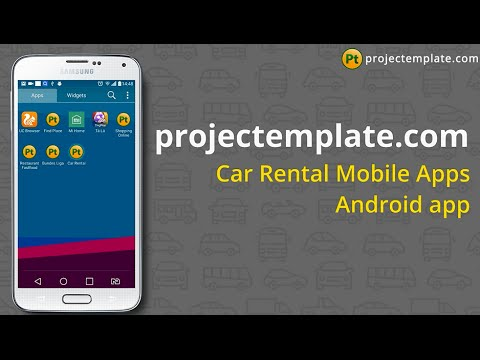 Car Rental Android App source code