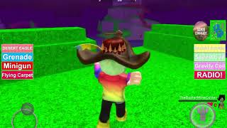 Playing Fortnite in ROBLOX with BM