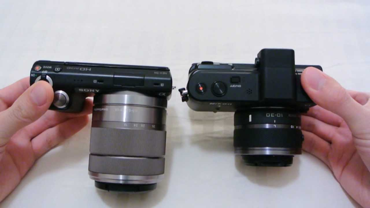 Sony NEX-5N vs. Nikon V1 Comparison Review - Part 1 - YouTube