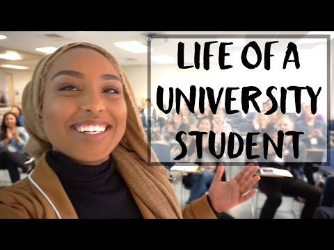 WEEK IN THE LIFE OF A UNIVERSITY STUDENT | Aysha Abdul
