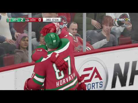NHL 16 - Bloopers: Ref, it's offside!