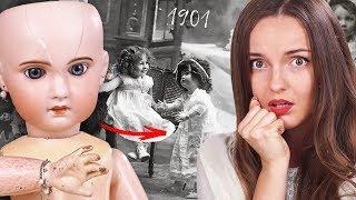 ЕЙ 118 ЛЕТ! Антикварная кукла с человеческими волосами и живыми глазами | Обзор Дороти из ПРОШЛОГО