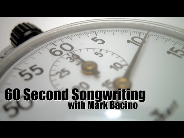 60 Second Songwriting Song Structure Basics The Verse Guitarworld