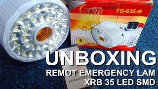 Video Unboxing Lampu Emergency Remote XRB 35 Led download MP3, 3GP, MP4, WEBM, AVI, FLV Januari 2018