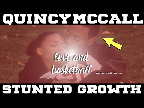Why Quincy McCall (Love And Basketball) Didn't Stick In The NBA STUNTED GROWTH