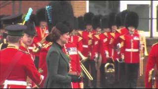 Raw: William, Kate Celebrate St. Patrick
