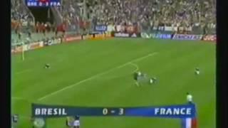 FRANCE BRESIL 3 - 0  1998 ★ 2014 ♫ I WILL SURVIVE ♫ musique-chanson coupe du monde 98