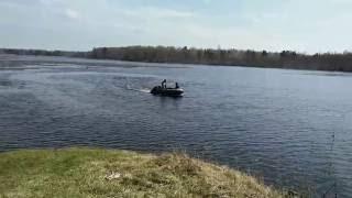Човен X-RIVER GRACE 320+ і ПЛМ НМ 9,8 обкатка 3 години