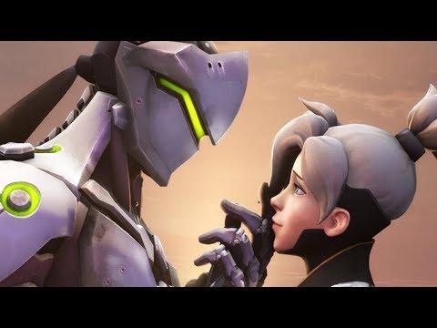 Mercy and Genji Fall In Love