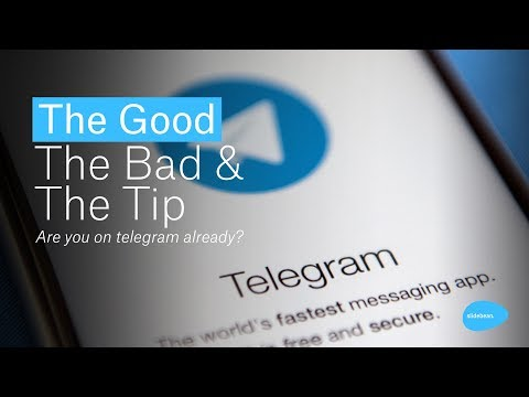 Are you on telegram already? - The Good, The Bad & The Tip