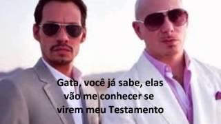 Pitbull ft. Marc Anthony - Rain Over Me (Legendado)