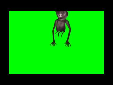 Ghost pig Jumpscare Trevor Henderson green screen free to use
