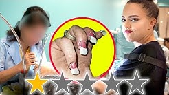 I WENT TO THE WORST REVIEWED NAIL SALON IN MY CITY LOS ANGELES