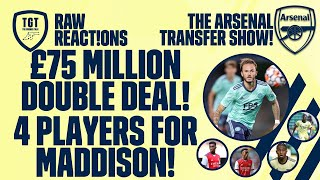 The Arsenal Transfer Show EP94: Maddison, Aouar, Berge, Ramsdale & More!