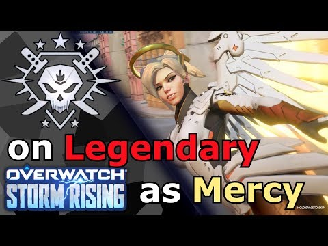 Overwatch - Legendary Victory in Storm Rising as Mercy