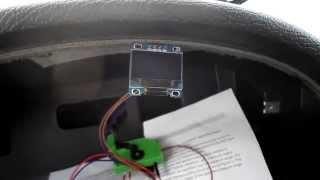 DIY Спидометр, тахометр и номер включенной передачи КПП для ВАЗ на OLED экране