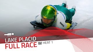 Lake Placid | BMW IBSF World Cup 2019/2020 - Women's Skeleton Heat 1 | IBSF Official