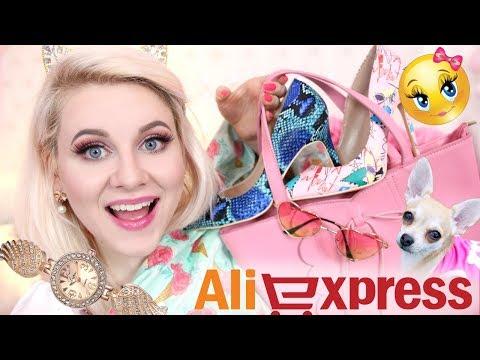 Super Słodki Haul z Aliexpress ❤️ torebka, buty, opaski + Openbox Shein + Everydaywigs * Candymona