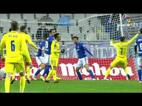 Resumen de Real Oviedo vs Cádiz CF (2-1)