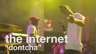 "The Internet, ""Dontcha"" (Live at vitaminwater"