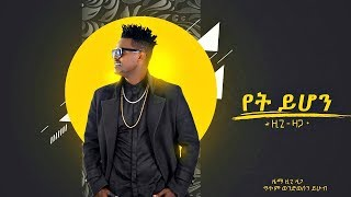 Ziggy Zaga - Yet Yihon | የት ይሆን - New Ethiopian Music 2019 (Official Audio)