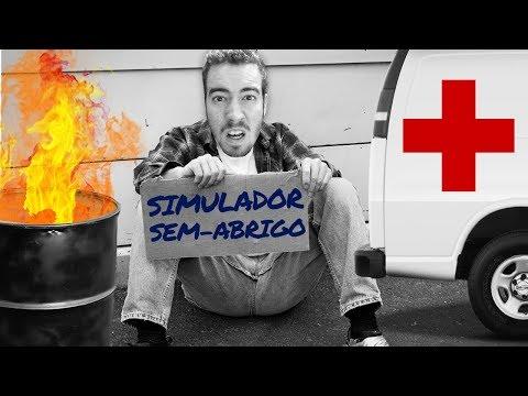 ESTOU DOENTE, AJUDEM-ME!!! | SIMULADOR DE SEM-ABRIGO?! (De Pobre a MILIONÁRIO)