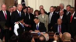 President Obama Signs Health Reform Into Law