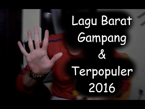5 Lagu Bahasa Inggris GAMPANG & Terpopuler 2016