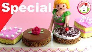 Playmobil deutsch - Pimp my PLAYMOBIL - Kuchen basteln - DIY für Kinder - Family Stories