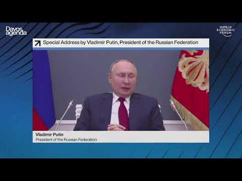 LIVE: Putin addresses virtual World Economic Forum