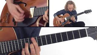 Jazz Trio Comping Guitar Lesson - No Greater Changes Performance - Mimi Fox