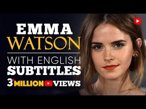 ENGLISH SPEECH | EMMA WATSON: Gender Equality (English Subtitles)