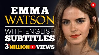 ENGLISH SPEECH | EMMA WATSON: Gender Equality (English Subtitles)