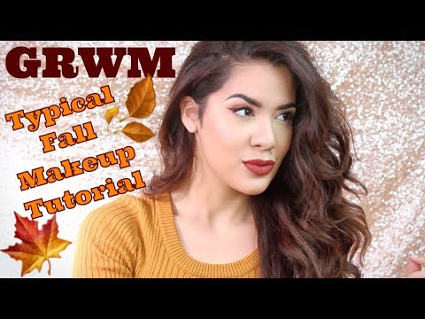 GRWM | Typical Fall Makeup Tutorial + Wedding Updates!
