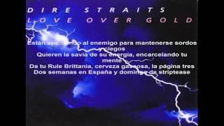 Dire Straits - Industrial Disease (Subtitulada al español)