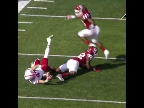 Nebraska vs Indiana amazing catch SC top ten