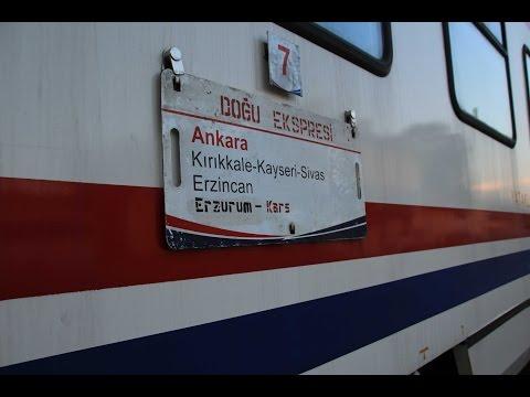 Doğu Ekspres Tren İçi Video (Yataklı Vagon)
