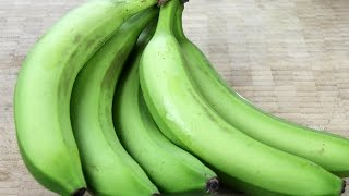 How To Shop For, Cook And Peel Green Bananas.