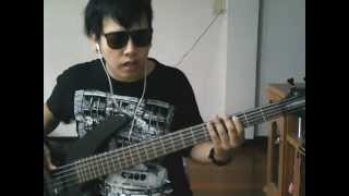 Oasis - Don't look back in anger (Bass Cover) Full Version