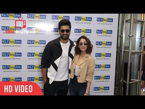 Vicky Kaushal And Yami Gautam Spotted Promoting Their Film Uri