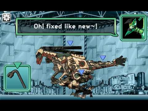 Мультик игра Роботы динозавры: Ремонт Галлимима (Gallimimus Repair Dino Robot)