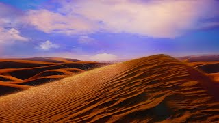 Desert Wind Storm Sounds White Noise for Sleeping or Studying