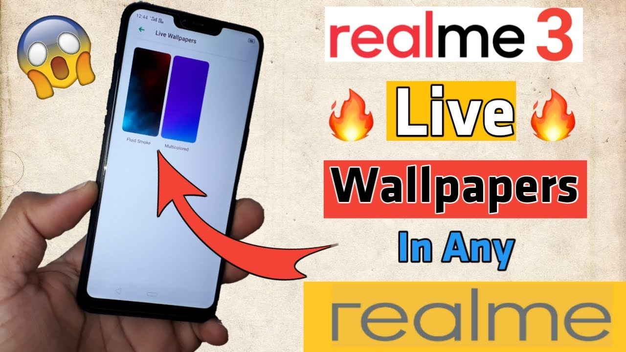 Realme 3 Live Wallpapers How To Download Realme 3 Live Wallpapers In Any Realme Phone Youtube
