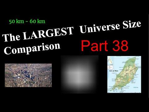 Largest Universe Size Comparison Part 38: 50 km - 60 km