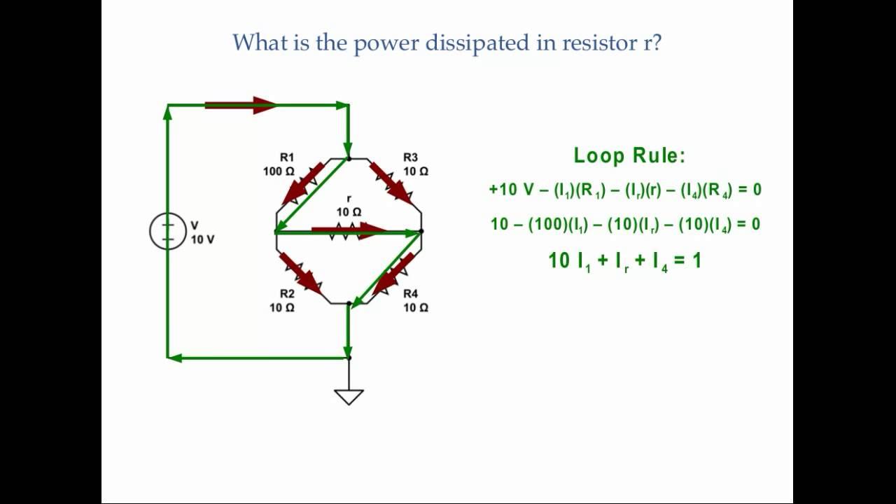 Dc Circuits Strained Wheatstone Bridge Youtube Wiring Diagram