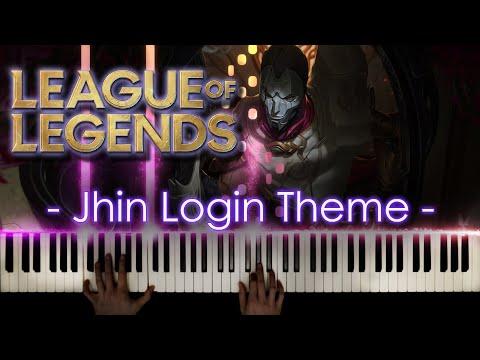 Jhin Login Theme - Piano Cover