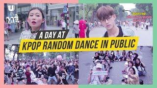 ĐI ĐÂU U MÊ? #1 MỘT NGÀY TRẢI NGHIỆM KPOP RANDOM DANCE IN PUBLIC - HÀ NỘI