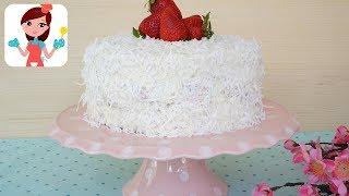 Çilekli Kar Beyaz Pasta Tarifi - Kevserin Mutfağı Yemek Tarifleri